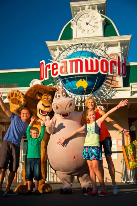 """Just like the series before it, the Big Brother house is located at Dreamworld on the Gold Coast. The house's dimensions are 42 metres by 55 metres, and it has the theme """"Past, Present and Future."""" Source: Facebook user Dreamworld"""