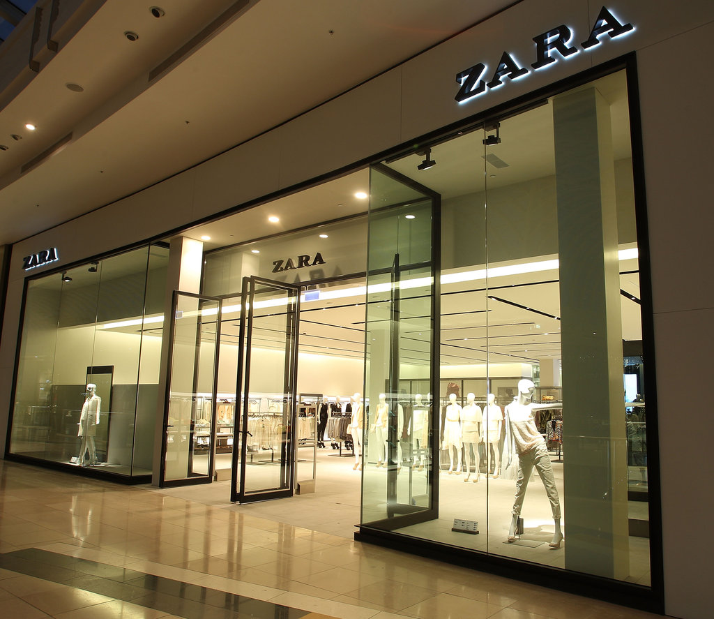 The entrance on level one takes you to the Zara Women and Zara Basic lines.