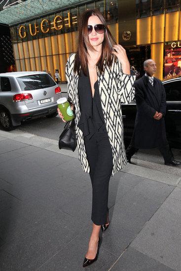Miranda Kerr Attends a Meeting at David Jones in Sydney