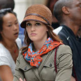 Gossip Girl Style: Leighton Meester's Cloche Hat and Riding Boots