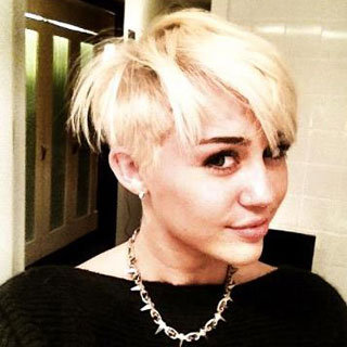 Miley Cyrus Cuts Her Hair Off See All the Pictures