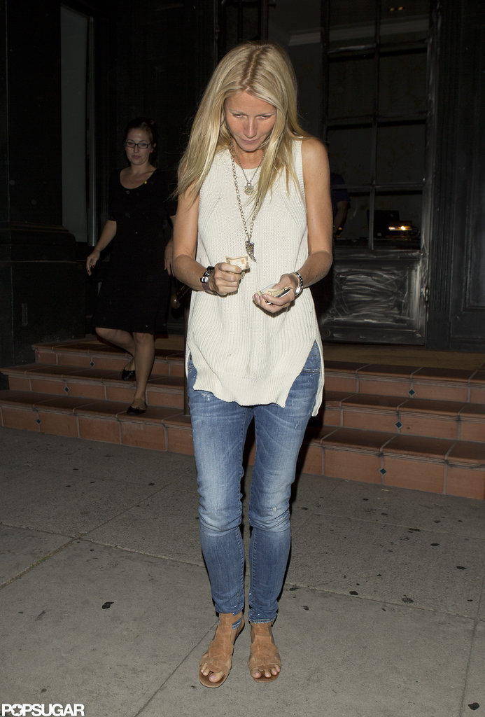 Gwyneth Paltrow stepped out in LA.