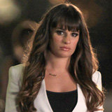 Glee Style: Lea Michele Goes Superchic in a White Blazer