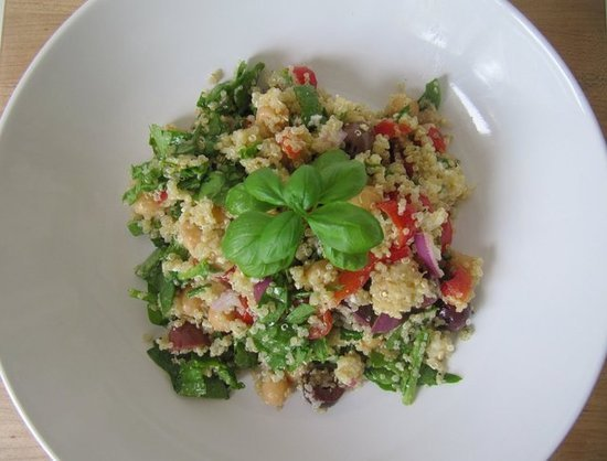 Mediterranean Quinoa Power Salad