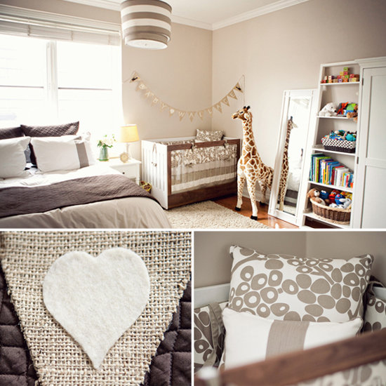 Bedroom Ideas Room Sharing With Baby: Shared Baby And Parent Room