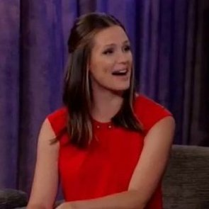Jennifer Garner Talks About Baby Boy on Kimmel
