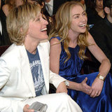 Cute Ellen DeGeneres and Portia de Rossi Pictures
