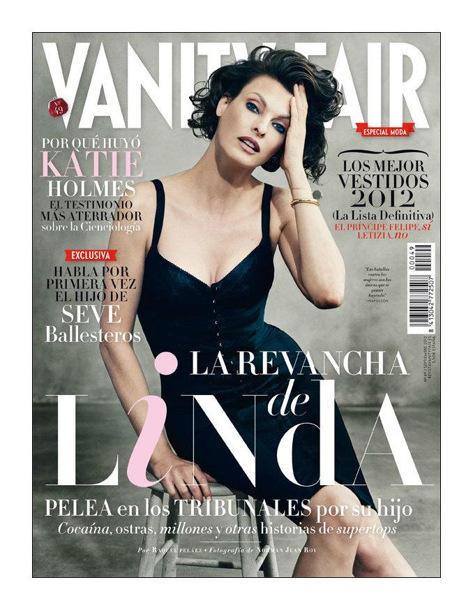Vanity Fair Spain September 2012
