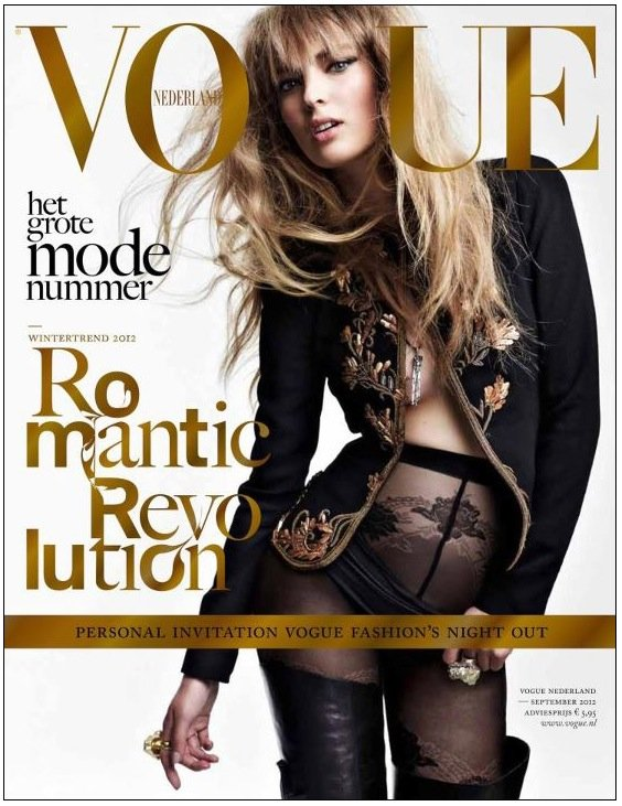 Vogue Netherlands September 2012