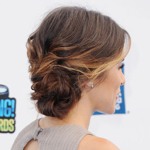 Get Nikki Reed's Texturised Up Do Using Salt Spray and Dry Shampoo