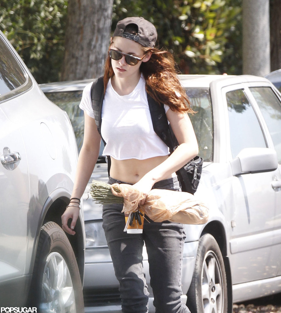 Kristen Stewart stepped out in LA for the first time since her cheating scandal.