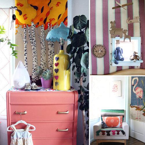 An Eclectic Nursery For a Boho Baby Girl