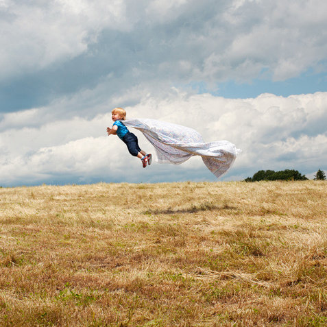 Flying Baby Photos Available as Prints and in New Book