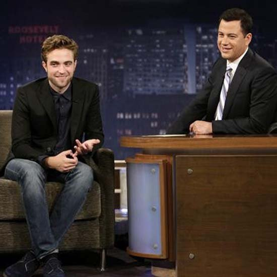 Robert Pattinson Jokes About Being Homeless With Jimmy Kimmel