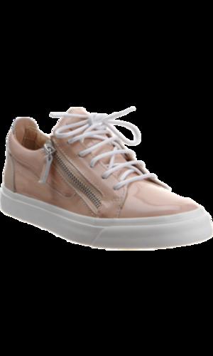 Giuseppe Zanotti Patent Zip Sneaker