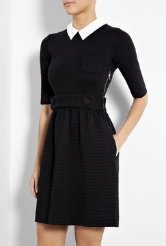 M Missoni Contrast Collar Dress