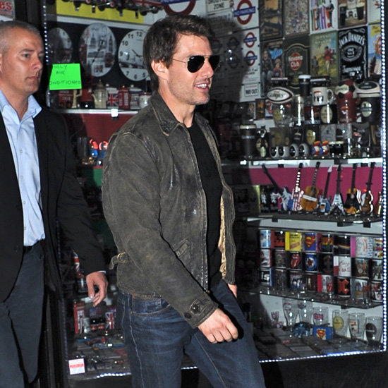 Tom Cruise Sees Connor DJ at Chinawhite | Pictures
