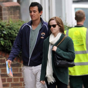 Emma Watson in London With Boyfriend Pictures