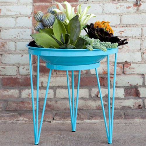 Colorful Steel Planters