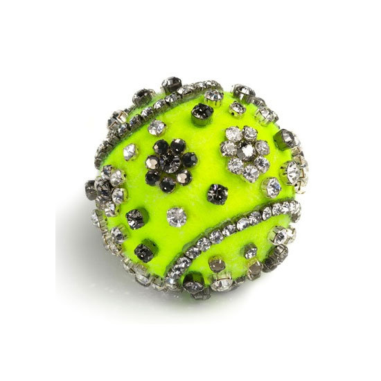 See the Bespoke Tennis Ball Designs Tory Burch, Pamela Love, DvF & More did for the 2012 US Open for Vogue.com