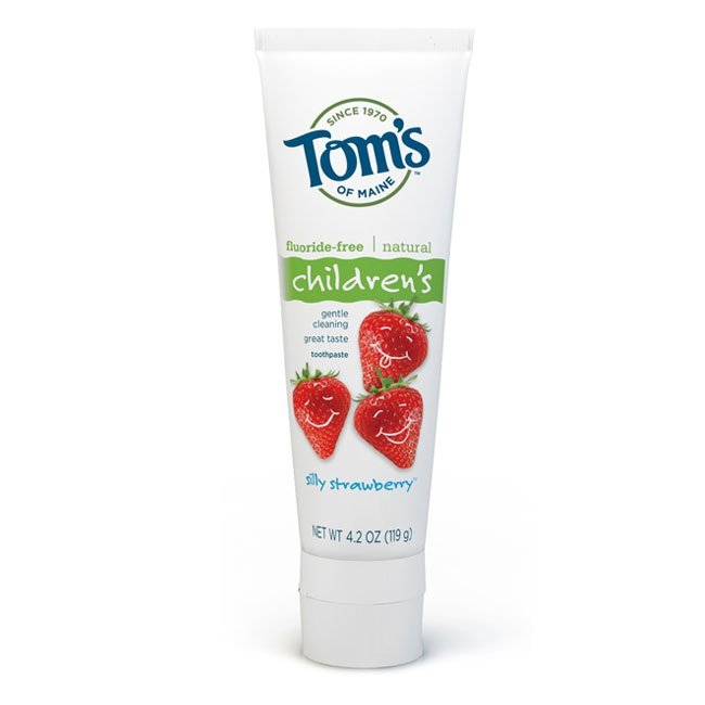 Tom's of Maine Children's Natural Toothpaste ($6)