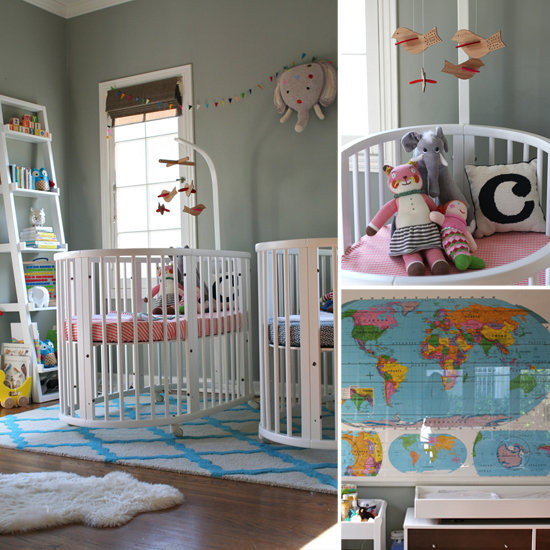 A Twin Tastic Nursery For A Lucky Boy And Girl 81