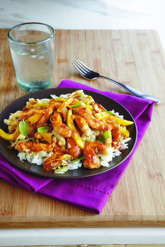 Pork and Mango Stir-Fry
