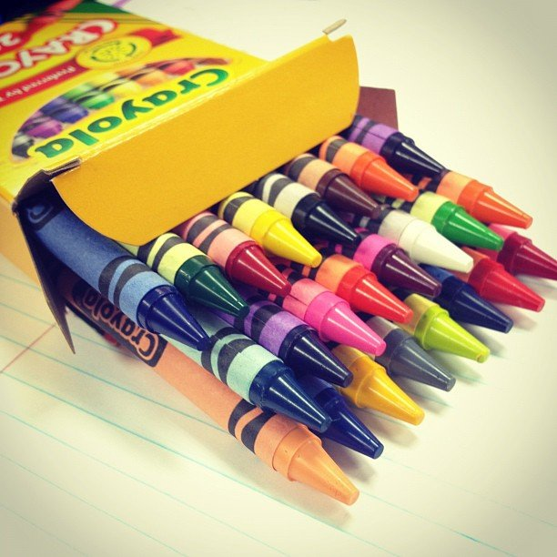 Buying a New Box of Crayons