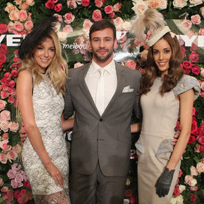 Jennifer Hawkins, Kris Smith, Rebecca Judd Pictures at Myer 50 Years of Fashions on the Field Celebration