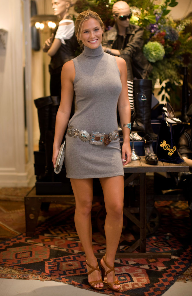 Bar Refaeli helped celebrate Ralph Lauren's iconic polo shirt at a boutique party in 2009.