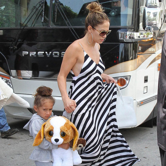 Jennifer Lopez in Miami With the Twins | Pictures