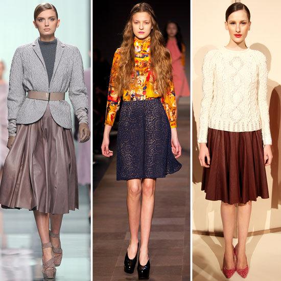Shop The Look: Full, Flirty Midi And Mini Skirts