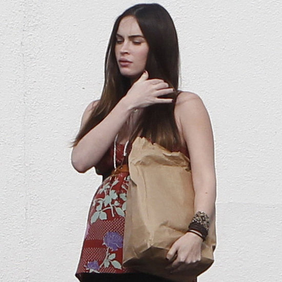Pregnant Megan Fox Baby Bump Pictures