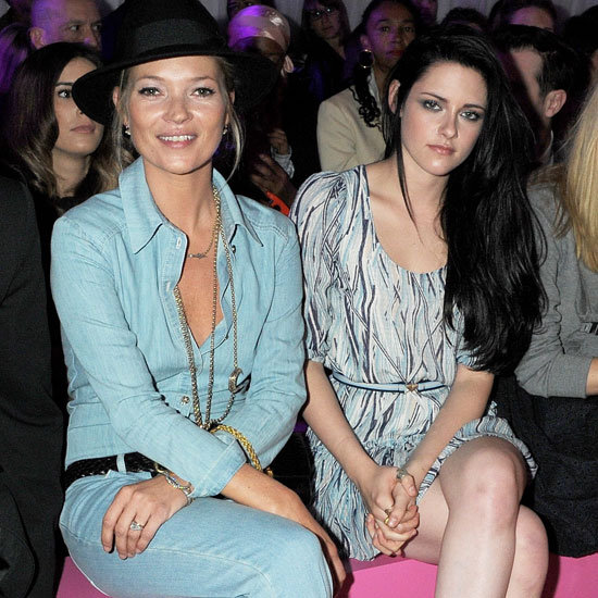 Front Row Celebrity Pictures at New York Fashion Week