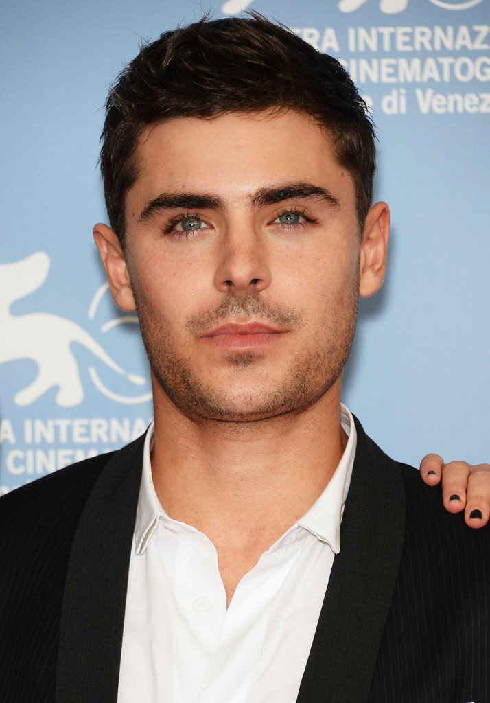 Zac Efron was on the red carpet for the At Any Price photocall at the Venice Film Festival.