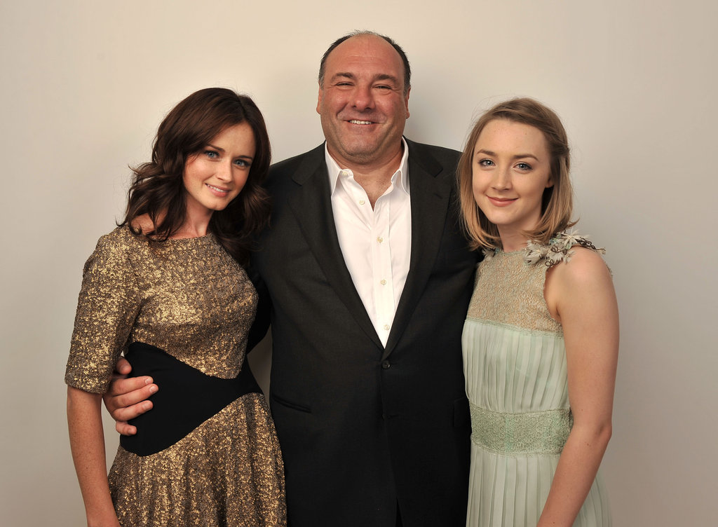 Violet & Daisy co-stars Alexis Bledel, James Gandolfini and Saoirse Ronan posed for photos at the 2011 film festival.