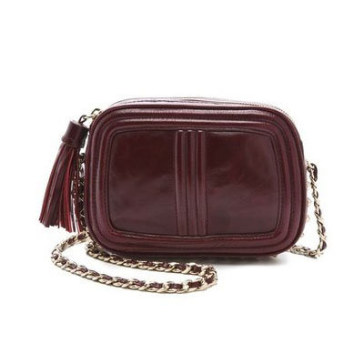 Rebecca Minkoff's bags make going hands-free easy and totally chic. Now I'm smitten with this Oxblood Quilted Flirty Bag ($275) — the perfect size to hold everything I need — in my favorite moody Fall hue. — Hannah Weil, associate editor