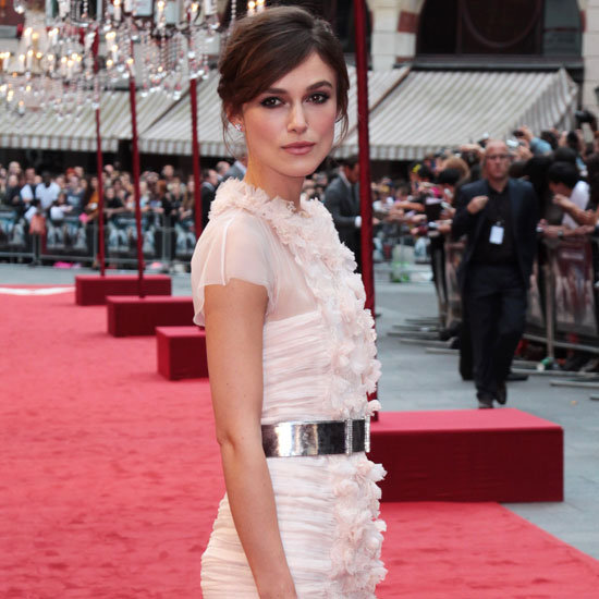 Pictures of Keira Knightley at the UK Premiere of Anna Karenina In White Chanel Dress, From All Angles!