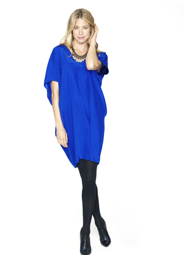 Go for dramatic, architectural details with the cool, contemporary Hatch Collection Slouch Dress ($248).