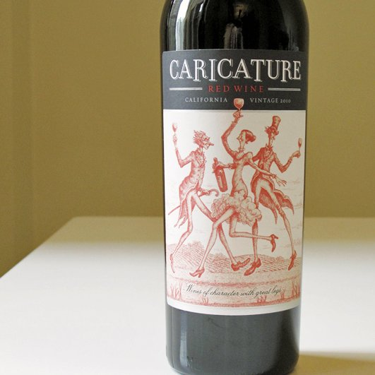 2010 Caricature Red Wine Review