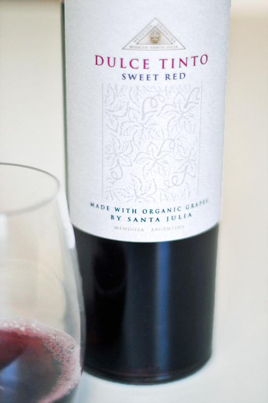 2011 Dulce Tinto Sweet Red