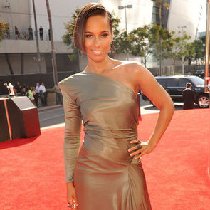 Alicia Keys On The 2012 MTV VMAs Red Carpet