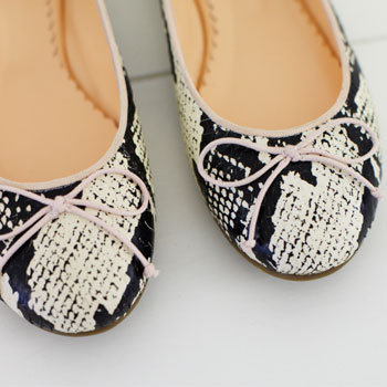 First Look: We Designed a Ballet Flat for Sambag's Swan Lake Limited Edition Collection. Shop It at Vogue Fashion's Night Out