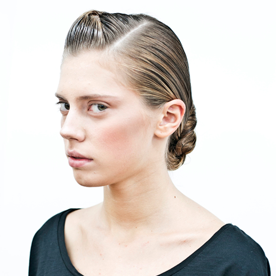 Suno Spring 2013 Hair and Makeup Pictures