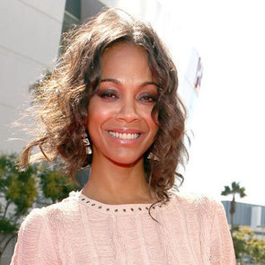 Zoe Saldana's Relaxed Ringlets at the 2012 MTV Video Music Awards