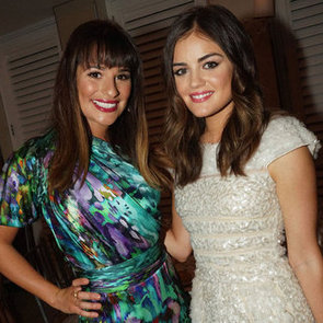Lea Michele and Lucy Hale at Nylon Magazine Party   Pictures
