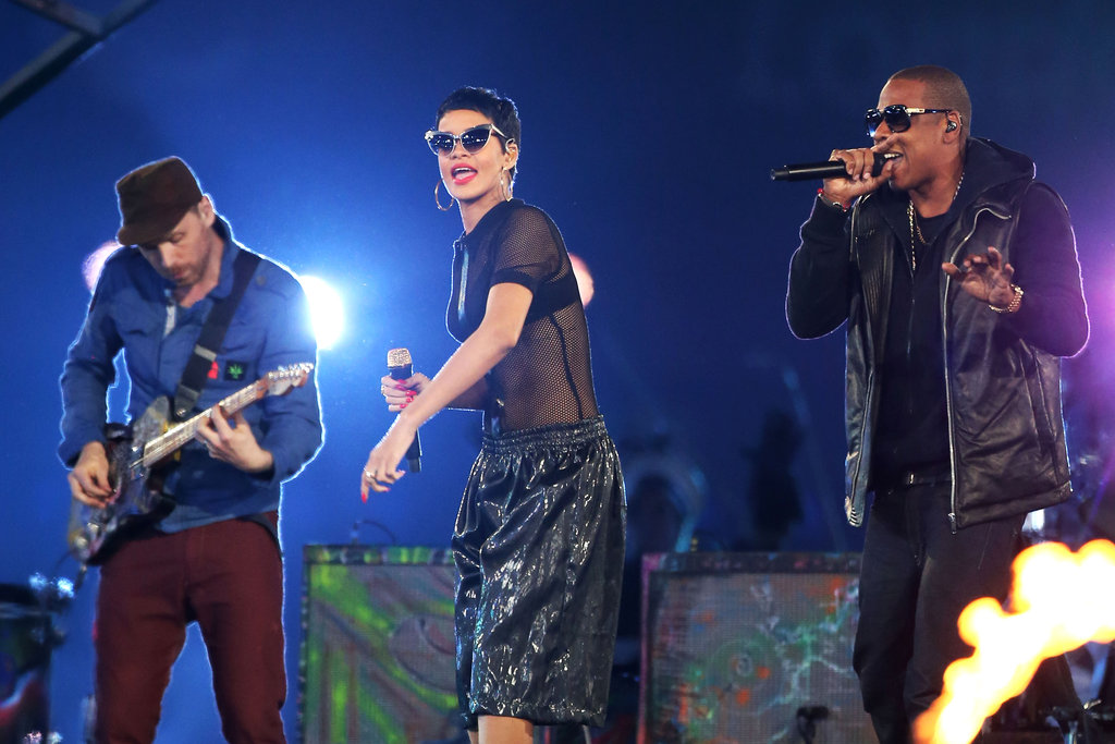 Jay-Z and Rihanna Join Coldplay to Close Out the Paralympics