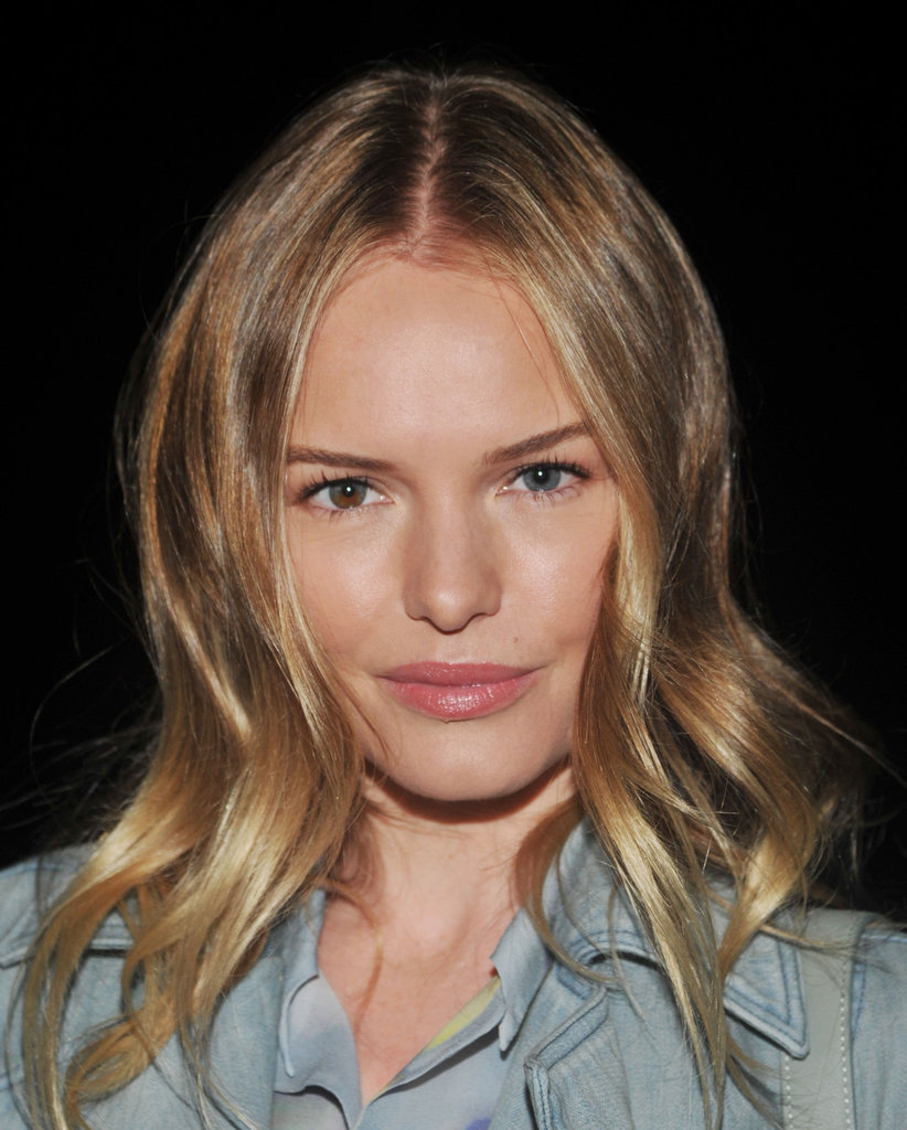 Kate Bosworth wore her hair in loose curls.