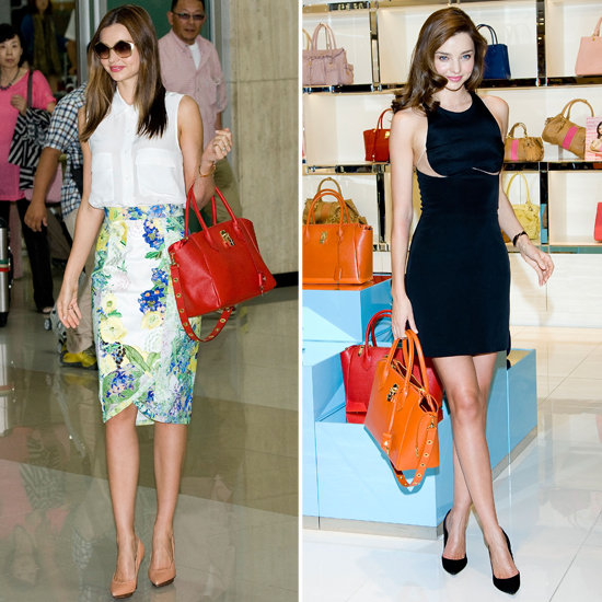 Miranda Kerr Jets to Asia For Two Big Bag Appearances