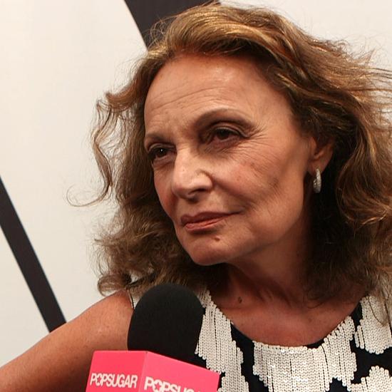 Diane Von Furstenberg Fashion Week Interview | Spring 2013
